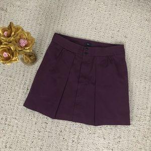 Gap Purple Plum Stretch Skirt Sz 8